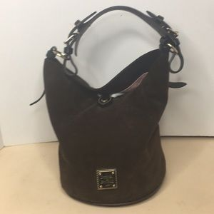 Dooney & Bourke Rare Round Suede Hobo bag